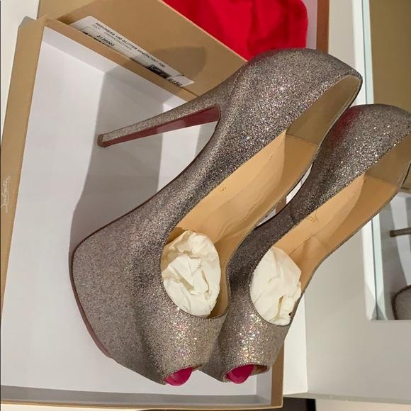 986de05c37 Christian Louboutin Shoes | Christian Lounoutin Highness 160 Glitter ...